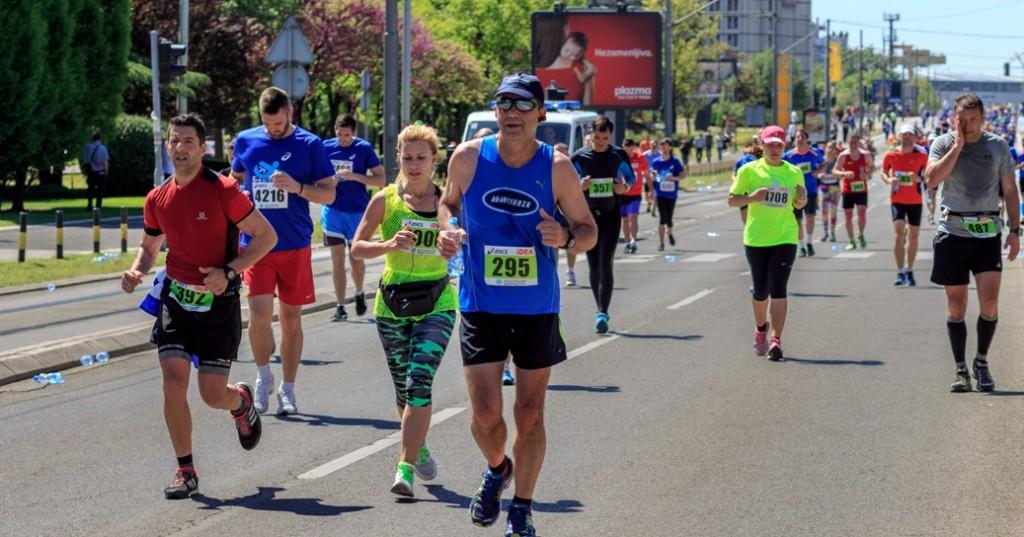 29. Beogradski maraton . Fotografija: Stefan Barna